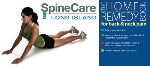 SpineCare Long Island home remedy book